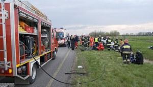 Dolnośląskie: Zderzenie dziewięciu aut na A4