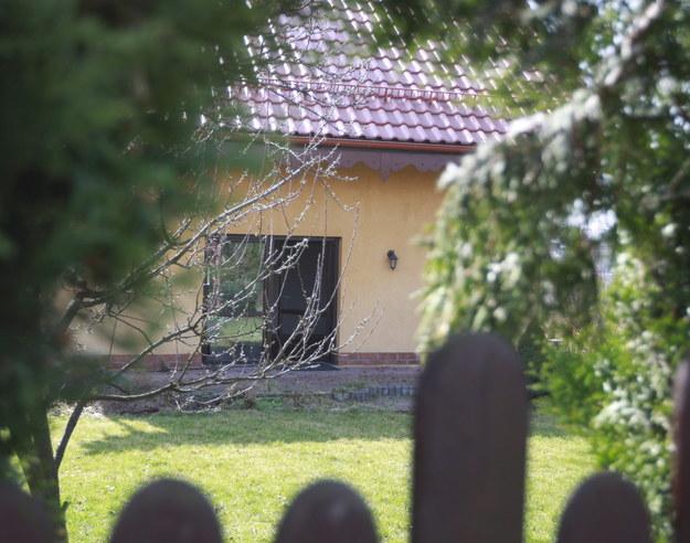 Dom, w którym doszło do tragedii /Andrzej Grygiel /PAP