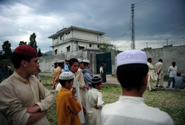 Dom, w którym mieszkał i w którym został zabity Osama bin Laden /AFP