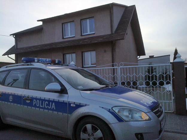 Dom, w którym znaleziono ciała noworodków /Piotr Bułakowski /Archiwum RMF FM