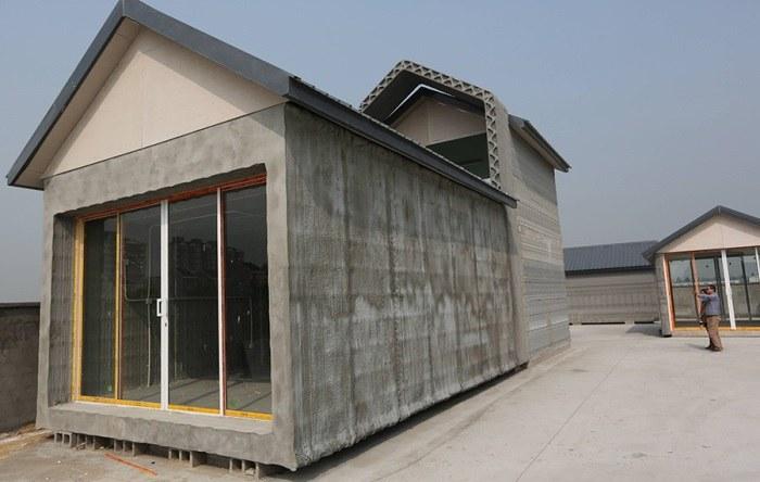 Dom z drukarki 3D można postawić już w 24 godziny (Fot. WinSun Decoration Design Engineering Co.) /materiały prasowe