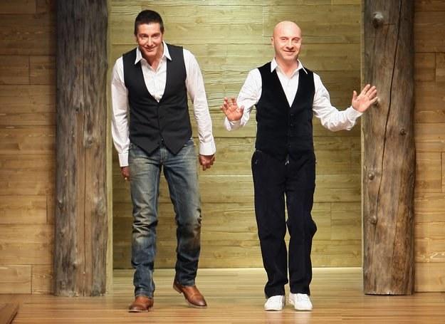 Domenico Dolce i Stefano Gabbana /Getty Images/Flash Press Media