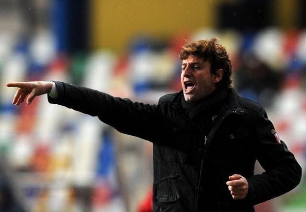 Domingos Paciencia, trener SC Braga jest dobrym kolegą Grzegorza Mielcarskiego. /AFP