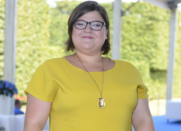 Dominika Gwit w sierpniu 2013. Dziś waży ponad 30 kilogramów mniej /Jaroslaw Antoniak /MWMedia