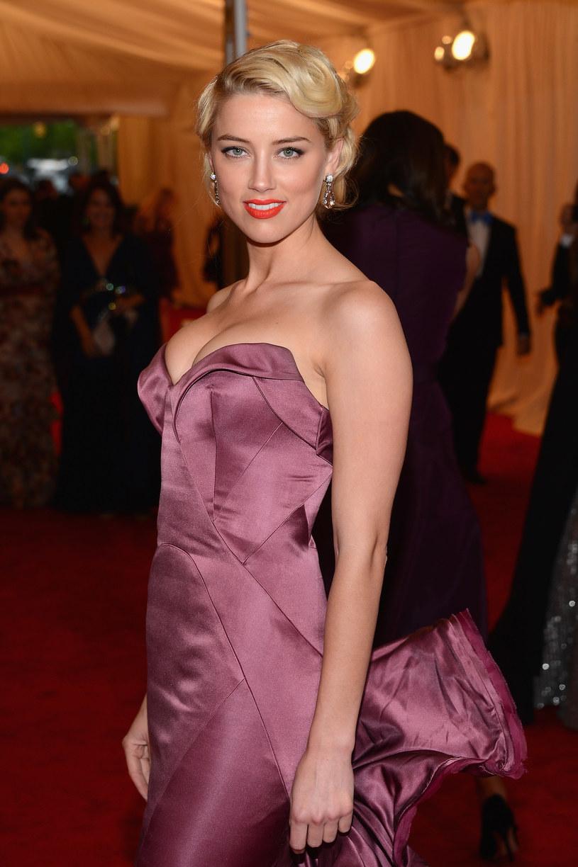 """Domniemana """"przyjaciółka"""" Johnny'ego - Amber Heard /Getty Images"""