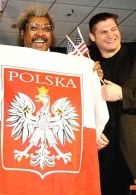 Don King i Andrzej Gołota /AFP
