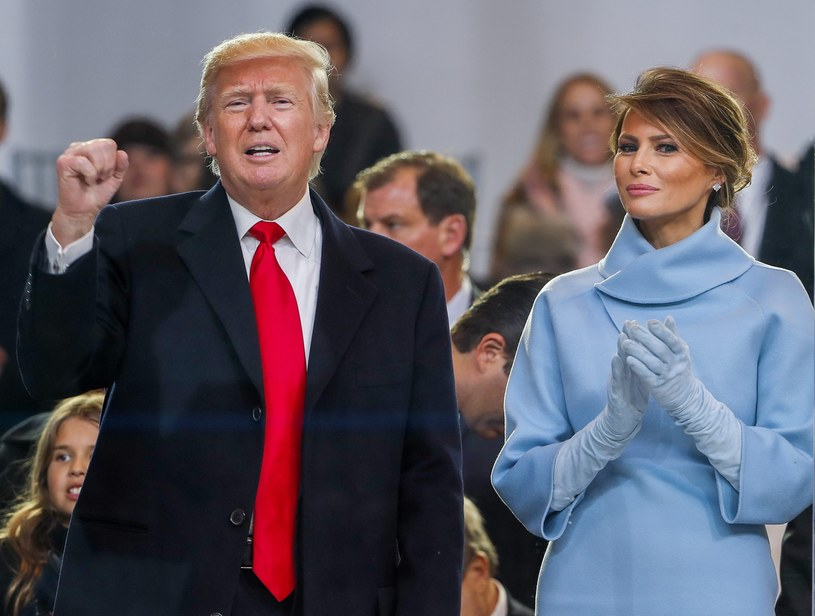 Donald i Melania Trump /AFP