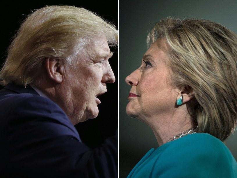 Donald Trump, Hillary Clinton /AFP