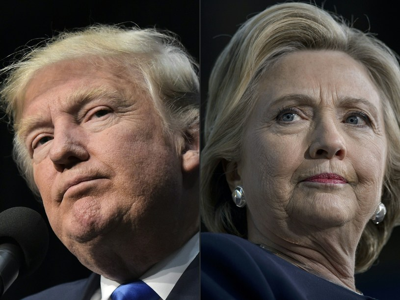 Donald Trump i Hillary Clinton /AFP