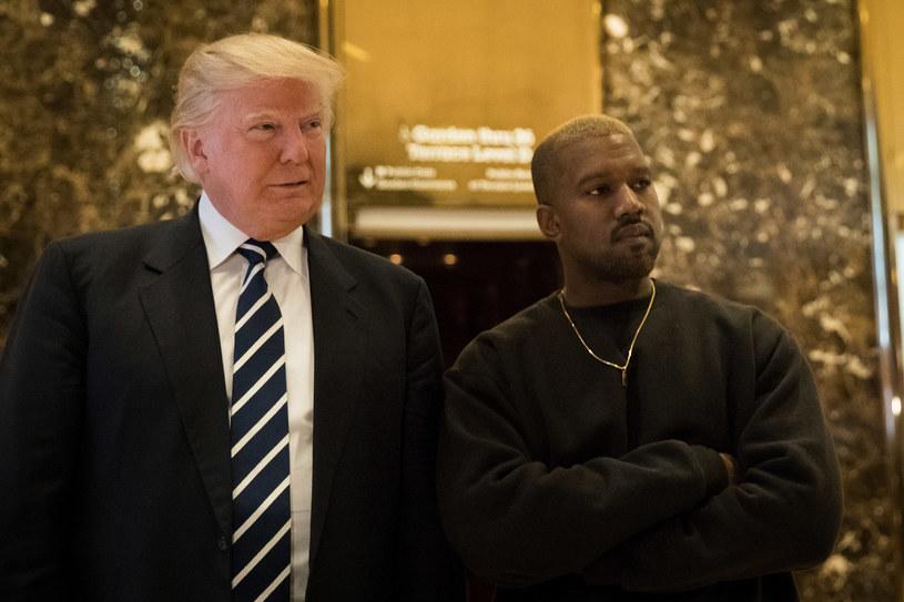 Donald Trump i Kanye West /DREW ANGERER /Getty Images