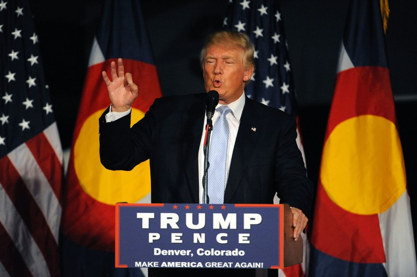 Donald Trump - kandydat na prezydenta USA /AFP