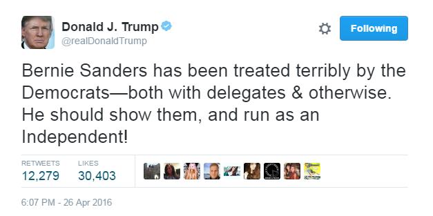 Donald Trump na Twitterze /Twitter
