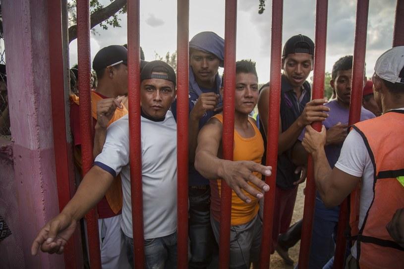 Donald Trump zaostrza polityke migracyjną względem Meksyku /LUIS VILLALOBOS /PAP/EPA