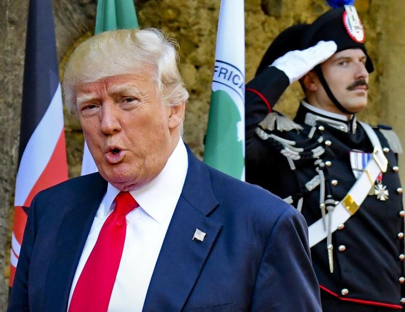 Donald Trump /CIRO FUSCO /PAP/EPA