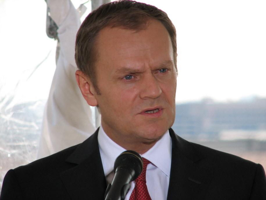 Donald Tusk chce, by UE inwestowała w infrastrukturę  /Katarzyna Szymańska-Borginion /RMF FM