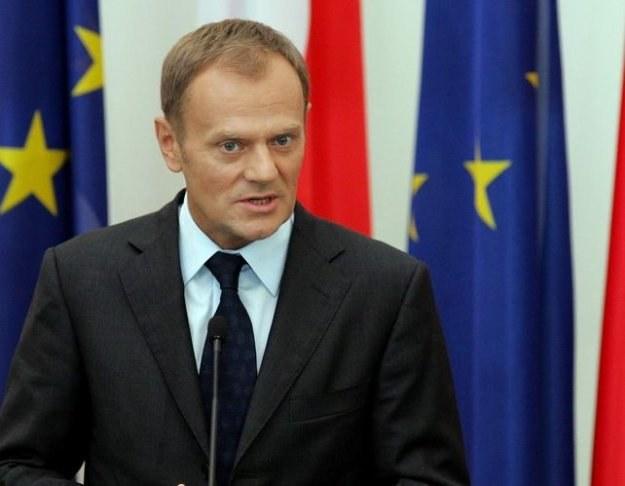 Donald Tusk, fot. A. Nocoń /Agencja SE/East News