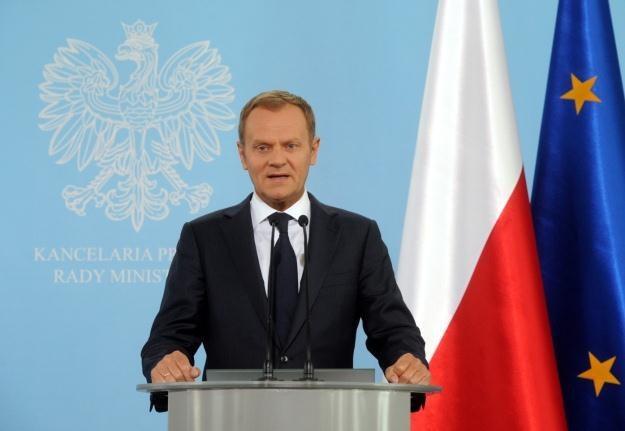Donald Tusk / fot. G. Jakubowski /PAP