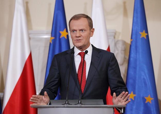 Donald Tusk, fot. Paweł Supernak /PAP