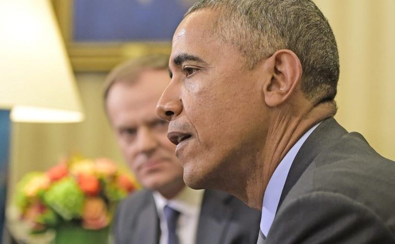 Donald Tusk i Barack Obama /PAP/EPA