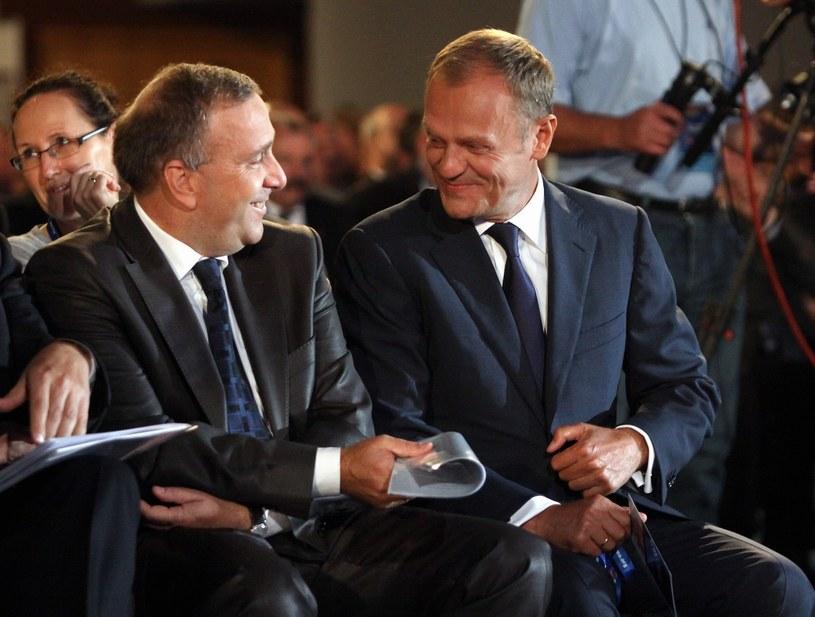 Donald Tusk i Grzegorz Schetyna /Mariusz Grzelak /Agencja SE/East News