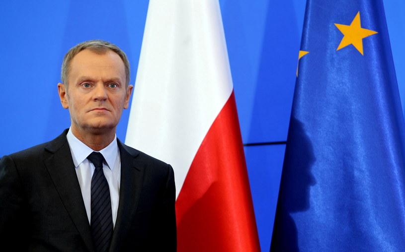 Donald Tusk poinformował o zmianach w rządzie. /Radek Pietruszka /PAP