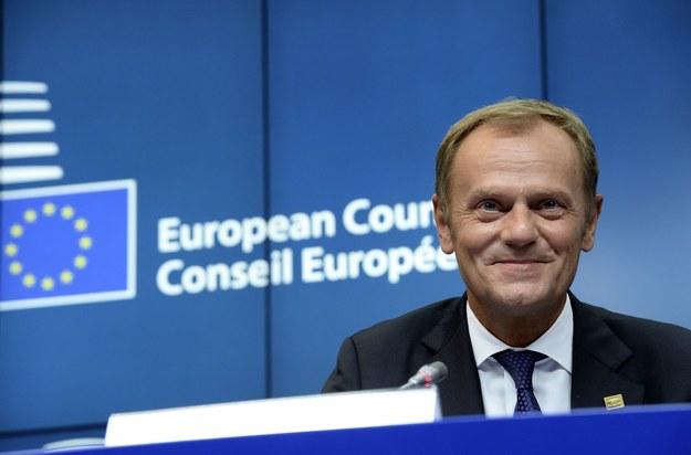 Donald Tusk, przewodniczący Rady Europejskiej /AFP