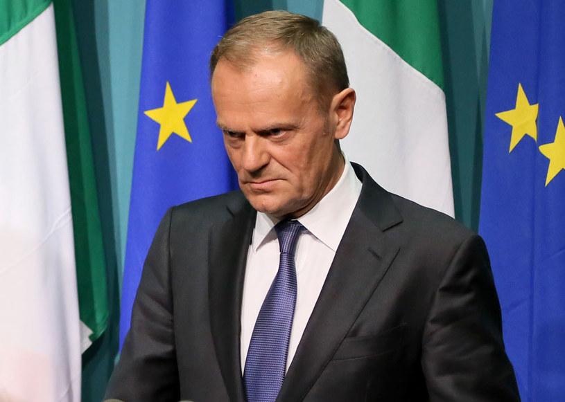 Donald Tusk: Pytel i Nosek byli i są wzorem odpowiedzialności, patriotyzmu i honoru /PAUL FAITH    /AFP