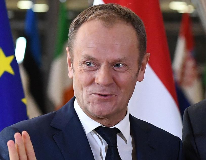 Donald Tusk: Rządzący nie są entuzjastami naszej obecności w Unii /EMMANUEL DUNAND /AFP