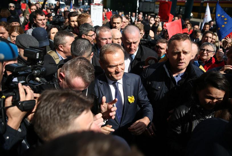 Donald Tusk w Warszawie /Krystian Maj /Agencja FORUM