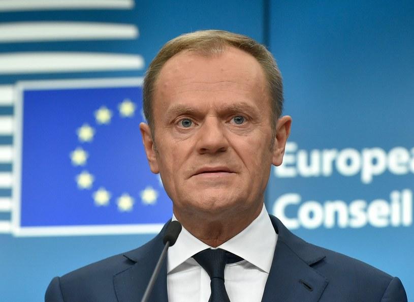 Donald Tusk: Władze w Ankarze powinny respektować suwerenność Cypru /JOHN THYS /AFP