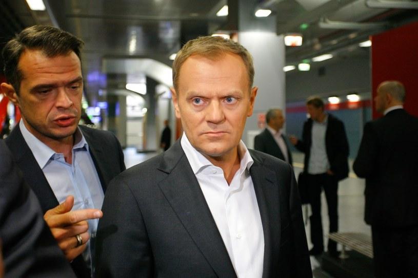 Donald Tusk (z prawej) i Sławomir Nowak /Krystian Maj /Reporter