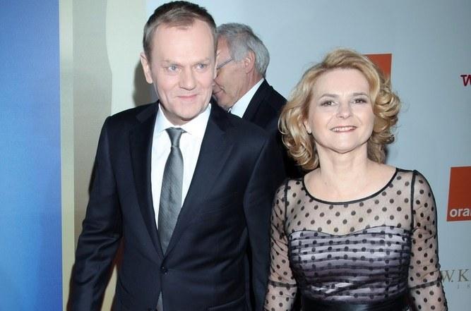 Donald Tusk z żoną /VIPHOTO /East News