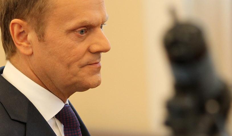Donald Tusk zdymisjonował Jarosława Gowina /Radek Pietruszka /PAP/EPA