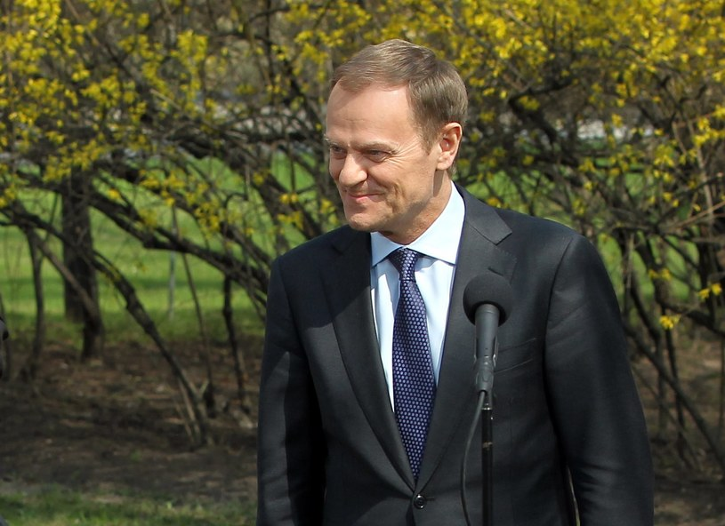 Donald Tusk /Radek Pietruszka /PAP