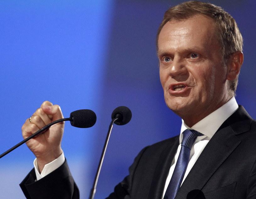 Donald Tusk /Andrzej Grygiel /PAP