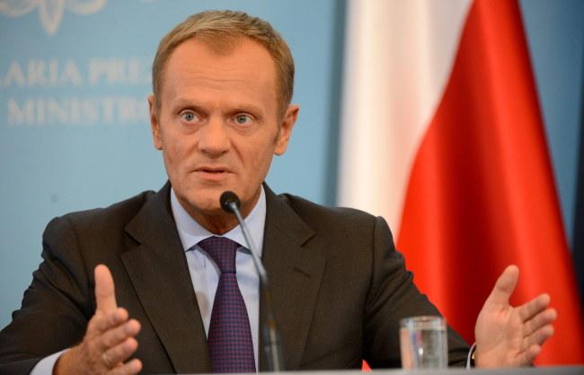 Donald Tusk /Bartłomiej Zborowski /PAP