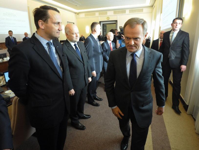 Donald Tusk /Grzegorz Jakubowski /PAP