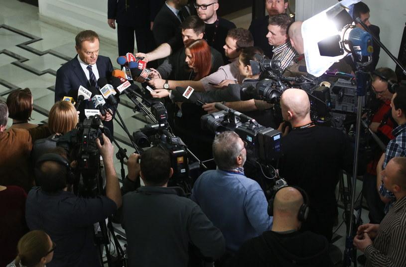 Donald Tusk /Rafał Guz /PAP
