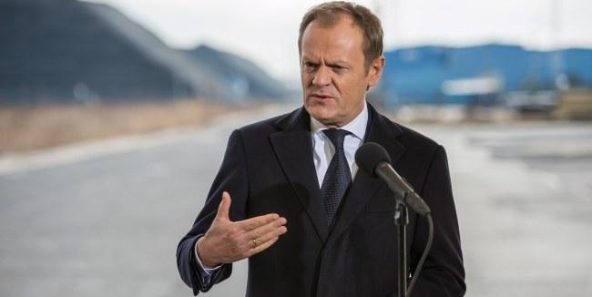Donald Tusk /PAP/Maciej Kulczyński  /PAP