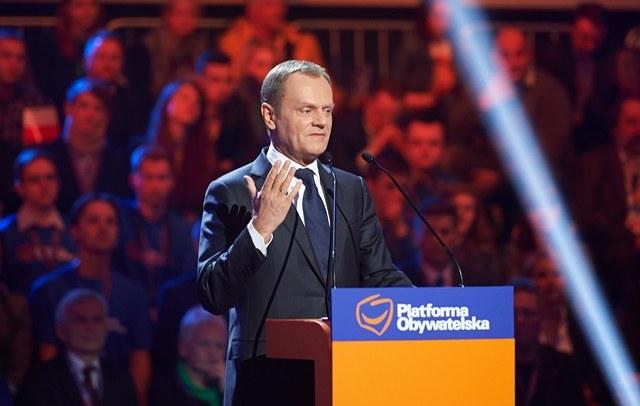Donald Tusk /Adam Warżawa /PAP