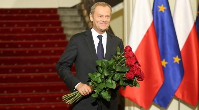 Donald Tusk /PAP/Leszek Szymański /PAP