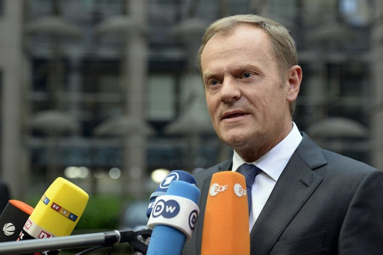 Donald Tusk /THIERRY CHARLIER / AFP /AFP