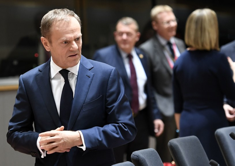 Donald Tusk /STEPHANE DE SAKUTIN /AFP