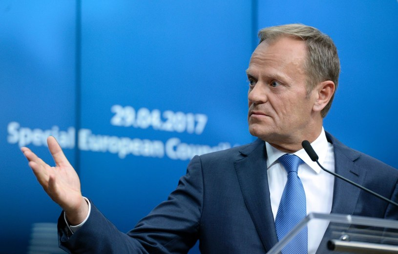 Donald Tusk /THIERRY CHARLIER /AFP