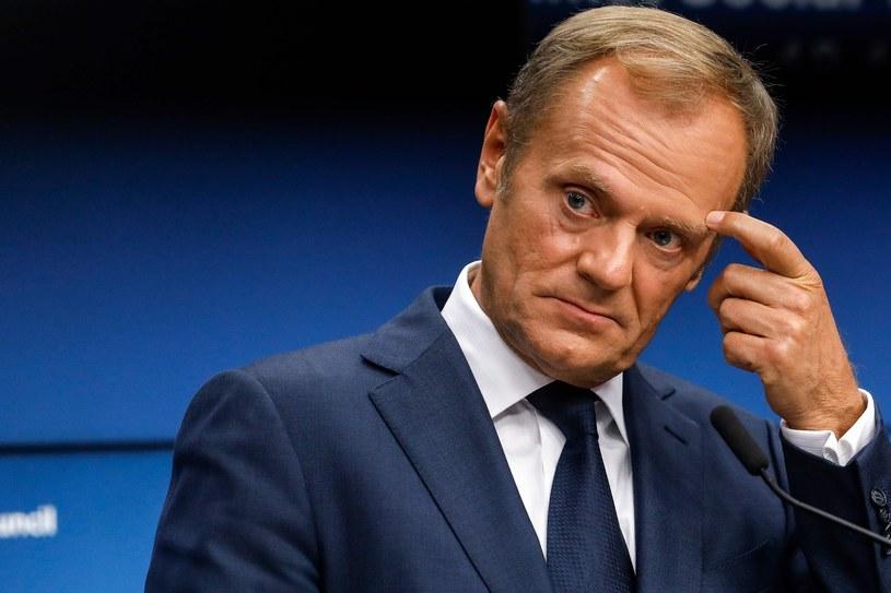 Donald Tusk /AFP PHOTO / Dario Pignatelli /East News