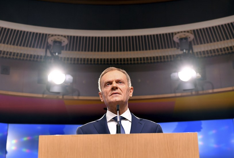 Donald Tusk /GEERT VANDEN WIJNGAERT /East News