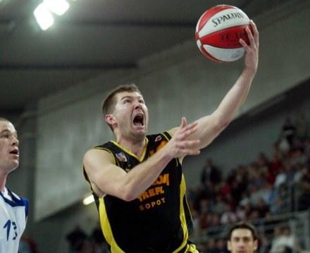Donatas Slanina (Prokom) /Agencja Przegląd Sportowy