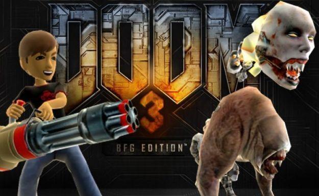 Doom 3 BFG - motyw graficzny /Informacja prasowa