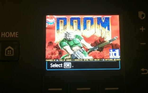 Doom na drukarce Canona - fragment z prezentacji zamieszczonej w serwisie YouTube.com /materiały prasowe