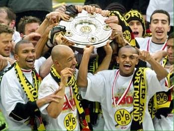 Dortmundczycy świętują mistrzostwo Niemiec